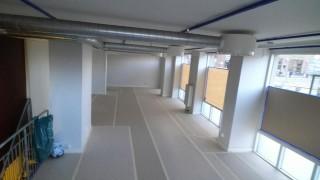 Renoveringen av de nya lokalerna på Sveavägen 141 är i full gång.