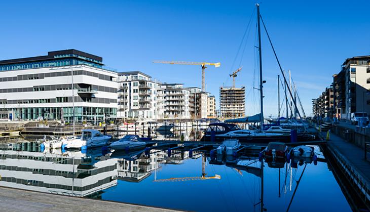 Sveriges bostadsmarknad hetast i hela EU