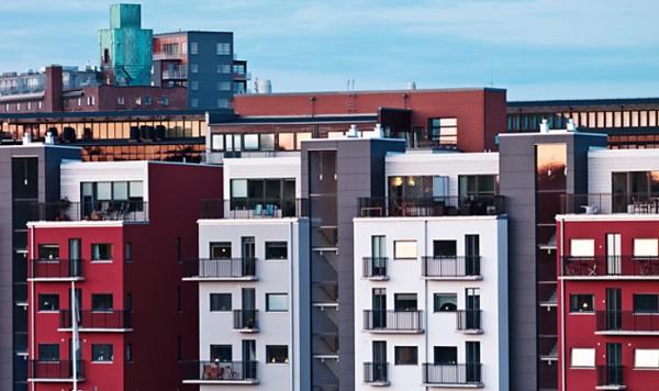 Stor ökning av bostadsrätter på marknaden