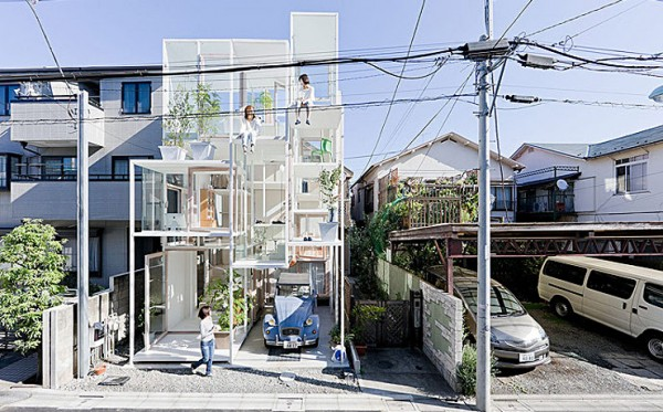 Glashuset I Tokyo
