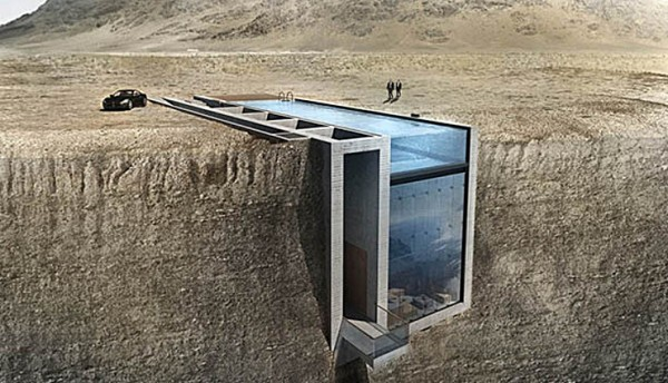 Casa Brutale – bokstavligen Living on the Edge