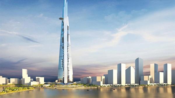 Nya skyskrapan blir högre än en kilometer