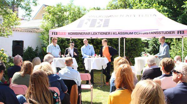 Fastighetsmäklarförbundet och Carolina Stegman i Almedalen