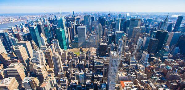 Fyndläge på Manhattan